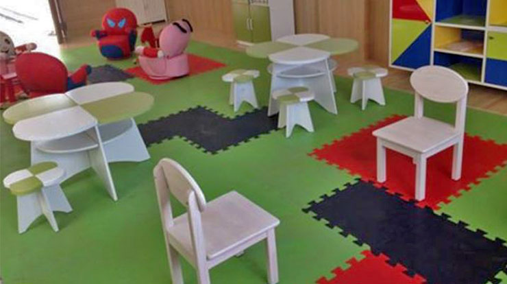 play school indoor flooring