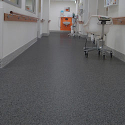 hospital rubber flooring