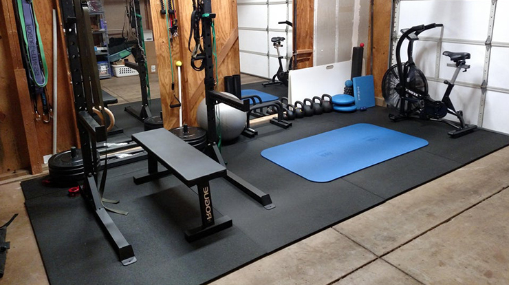 garage and gym