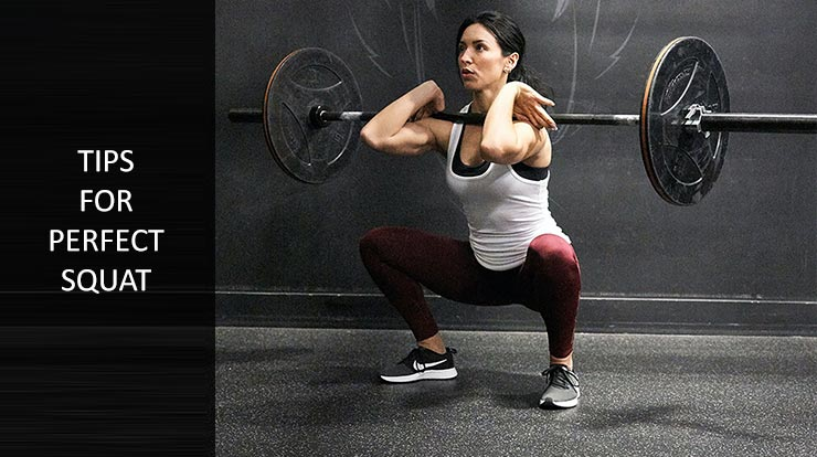 tips for perfect squat