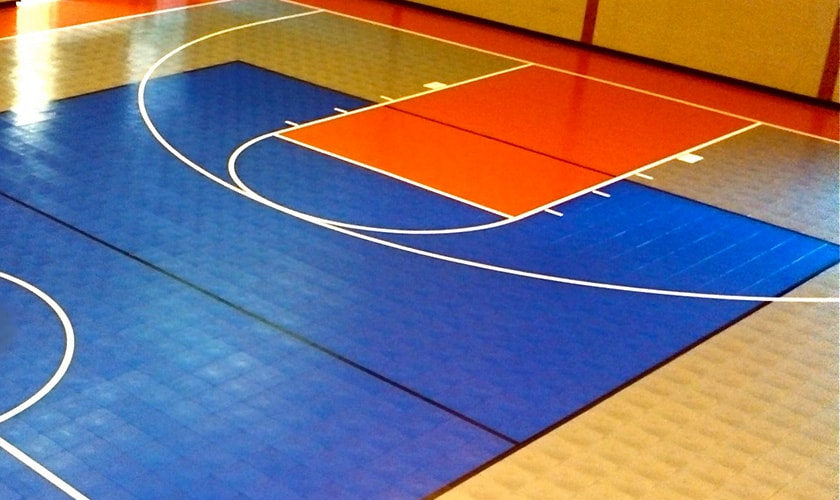 basketball rubber flooring