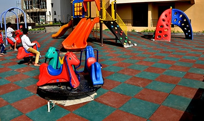 kids playarea rubber flooring