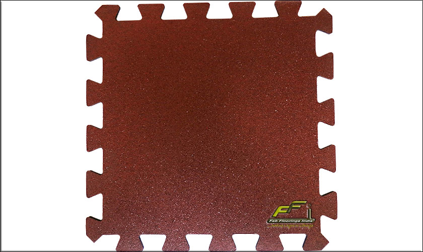 terracotta interlocking rubber tile