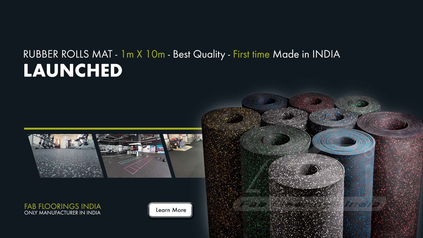 Rubber Rolls Launched - Only Manufacturer in India