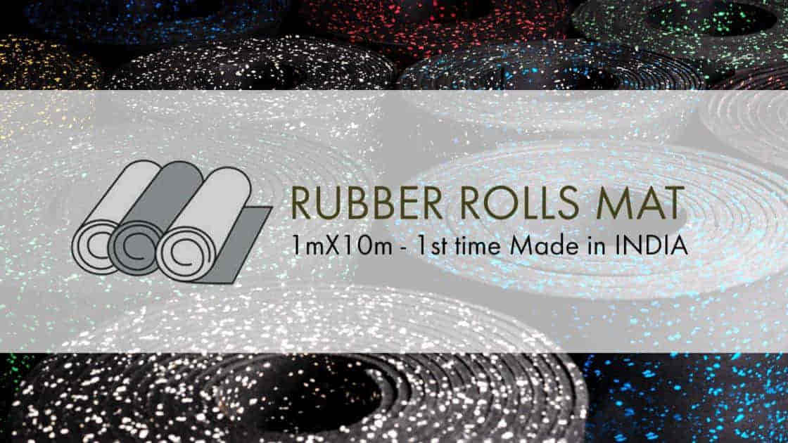 Rubber Rolls Mat - First Time Made in India