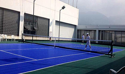 tennis rubber flooring